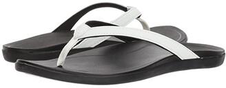 OluKai Ho'opio (Dark Java/Dark Java) Women's Sandals