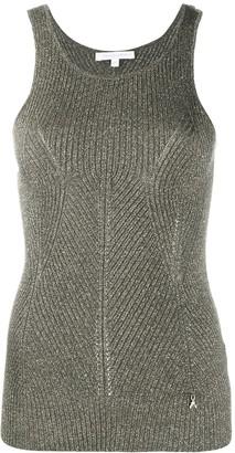 Patrizia Pepe Sleeveless Knitted Top