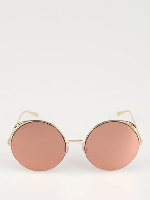 Cartier Panthere De Round Sunglasses