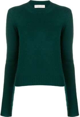 Bottega Veneta Cropped Knitted Sweater