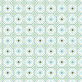 Caden Lane Modern Vintage Collection Octagon Single Sheet, Boy by