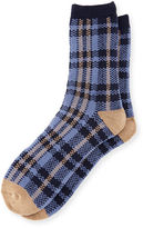 UGG Men's Plaid Jacquard Crew Socks