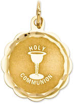 Macy's 14k Gold Charm, Holy Communion Charm