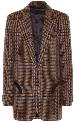 BLAZÉ MILANO Weekend wool and alpaca-blend blazer