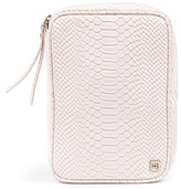 Hudson + Bleecker Avion Cosmetic Case White Skin