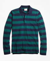 Brooks Brothers Long-Sleeve Stripe Rugby Shirt