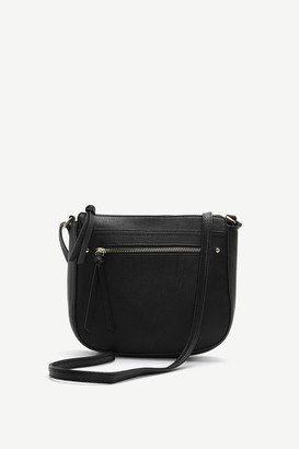 Ardene Faux Leather Crossbody Bag