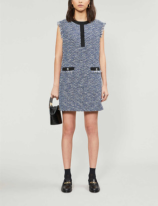 Claudie Pierlot Regione woven mini dress