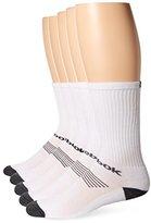 Reebok Men's 5 Pack Cushion Performance Crew Sock