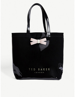 Ted Baker Gabycon bow detail PVC tote