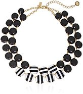"""Kate Spade The Right Stripe"""" Statement Necklace, 17"""" + 3"""" Extender"""