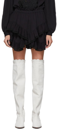 Isabel Marant Black Leocadia Shorts