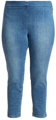 NYDJ, Plus Size Skinny Ankle Pull-On Jeans