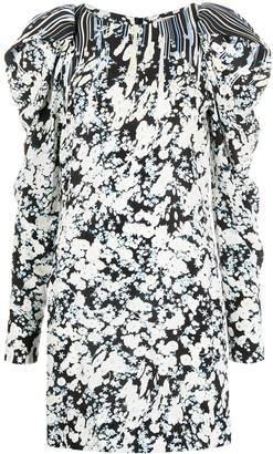 Dorothee Schumacher Floral-Print Shift Mini Dress