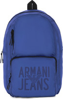 Armani Jeans Packaway nylon backpack