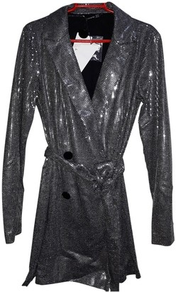 Non Signé / Unsigned Non Signe / Unsigned Silver Jumpsuit for Women