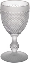 Vista Alegre Bicos Frosted Water Goblet