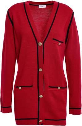 Claudie Pierlot Melange Wool-blend Cardigan