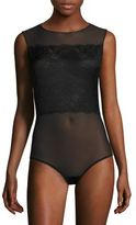 Wolford Lace & Tulle Bodysuit