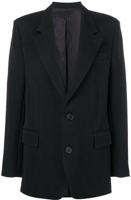 AMI Paris Notched Lapel Blazer Jacket
