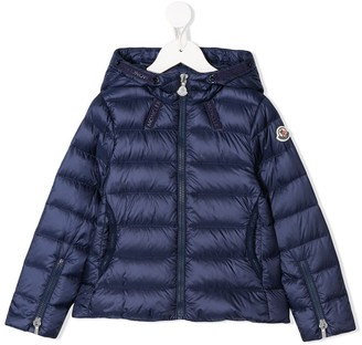 Moncler Enfant Padded Zipped Jacket