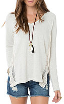 O'Neill Muse Lace Inset Sweater