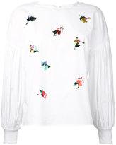 Muveil sequin embellished blouse