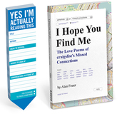 Knock Knock I Hope You Find Me Book & Actually Reading This Bookmark Pack