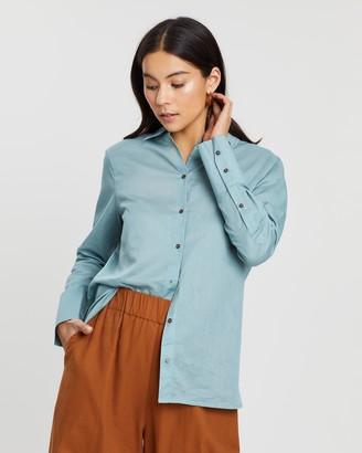 Scotch & Soda Linen-Blend Shirt
