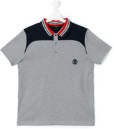 Roberto Cavalli teen logo polo shirt - kids - Cotton - 14 yrs