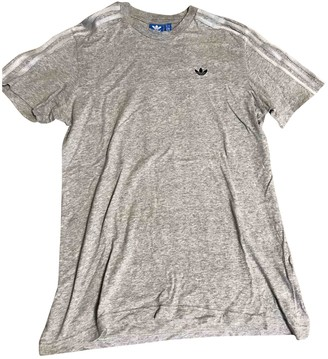 adidas Grey Cotton T-shirts