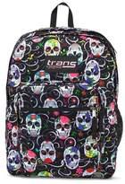 """JanSport Trans by ; 17"""" SuperMax Backpack - Sugar Skulls"""