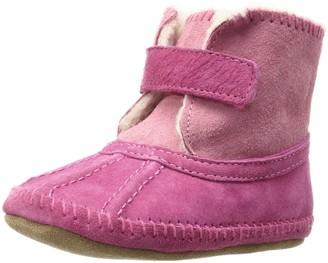 Robeez Baby-Girl's Galway Cozy Bootie Boot