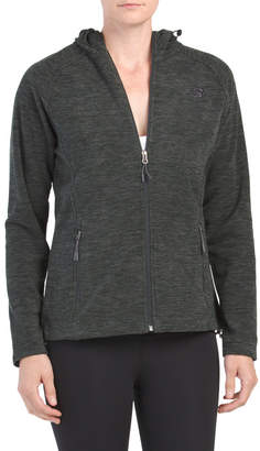 Polar Fleece Space Dye Hooded Jacket
