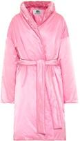 Balenciaga Wrap padded nylon coat