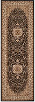 "Kenneth Mink Closeout! Km Home Area Rug, Princeton Ardebil Black 2'7"" x 7'10 Runner Rug"