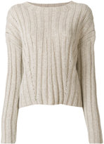 Dondup classic knitted sweater - women - Acrylic/Polyamide/Polyester/Mohair - XS