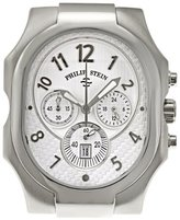Philip Stein Teslar Men's 23-NW Classic Chronograph Natural Frequency Technology Chip Watch