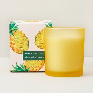 Indigo Scents Tropical Scented Boxed Glass Candle Pineapple Passion Fruit