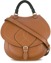 Maison Margiela top handle saddle bag - women - Leather - One Size