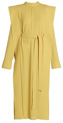 Stella McCartney Strong-Shoulder Runway Dress