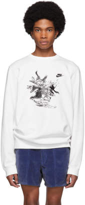 Nike Erl ERL White Edition Witch Sweatshirt