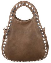 Marni Small Studded Leather Satchel