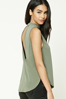 Forever 21 FOREVER 21+ V-Cut Back Top