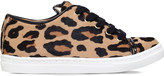 Charlotte Olympia Incy purrrfect leopard-print leather trainers 3-8 years