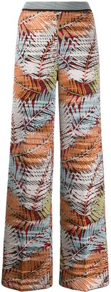 Missoni Embroidered Wide-Leg Trousers