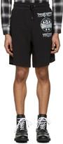Moschino Black Logo Shorts