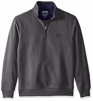 Izod Men's Advantage Performance Quarter Zip Fleece Pullover