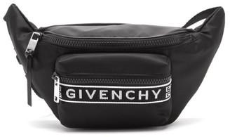 Givenchy 4g-webbing Technical Belt Bag - Black White