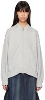 Chimala Grey Zip Sweater